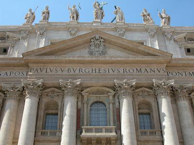 saint pierre de rome, vatican, rome en images