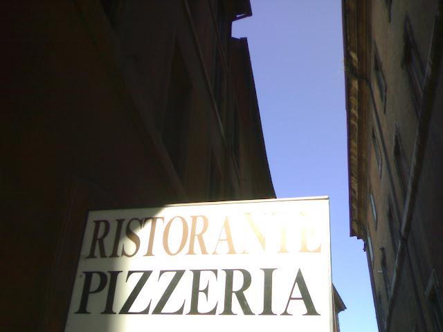 pizza, rome, italie, rome en images