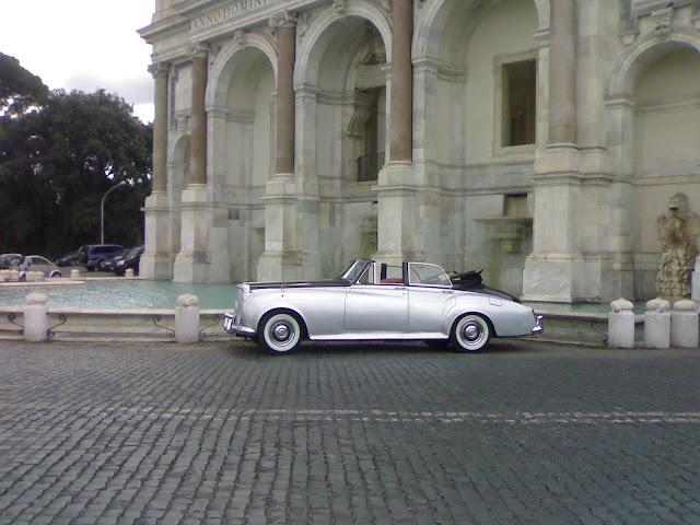 promenade du janicule, rome, italie