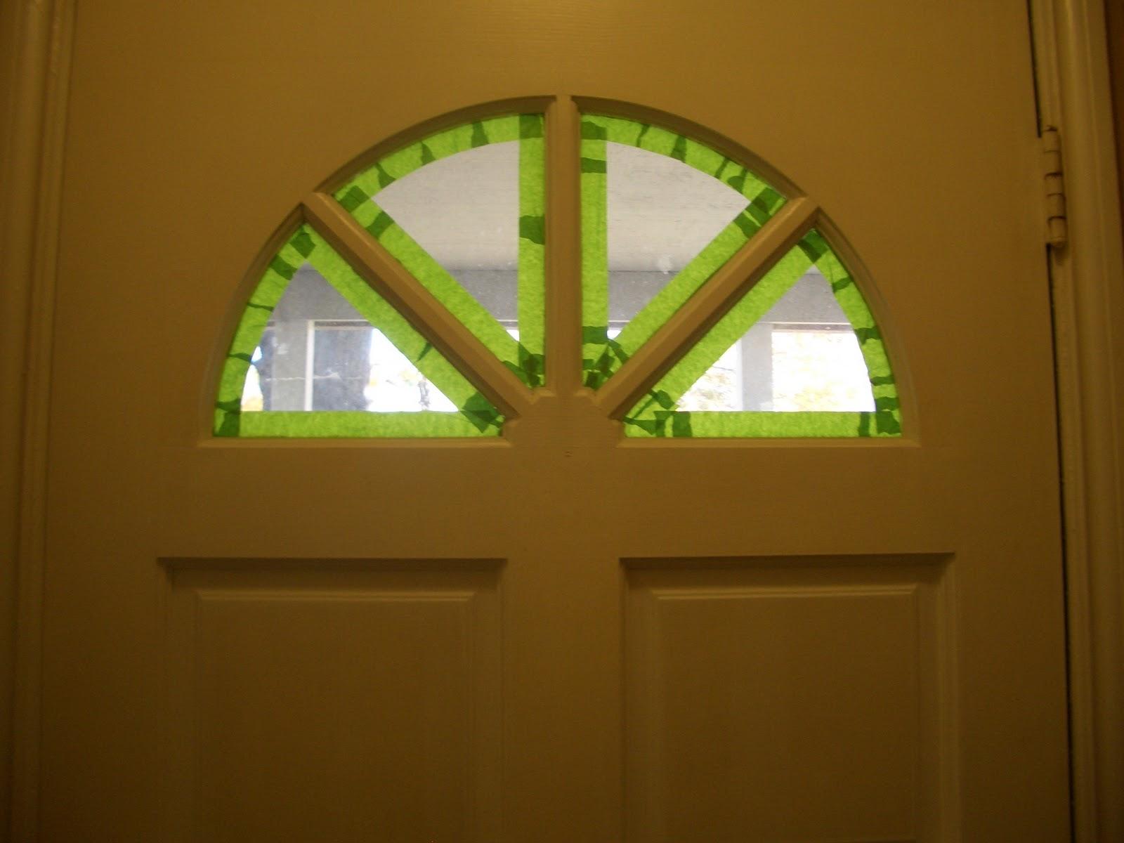 Cool home creations painting front door interior - Interior door with window on top ...