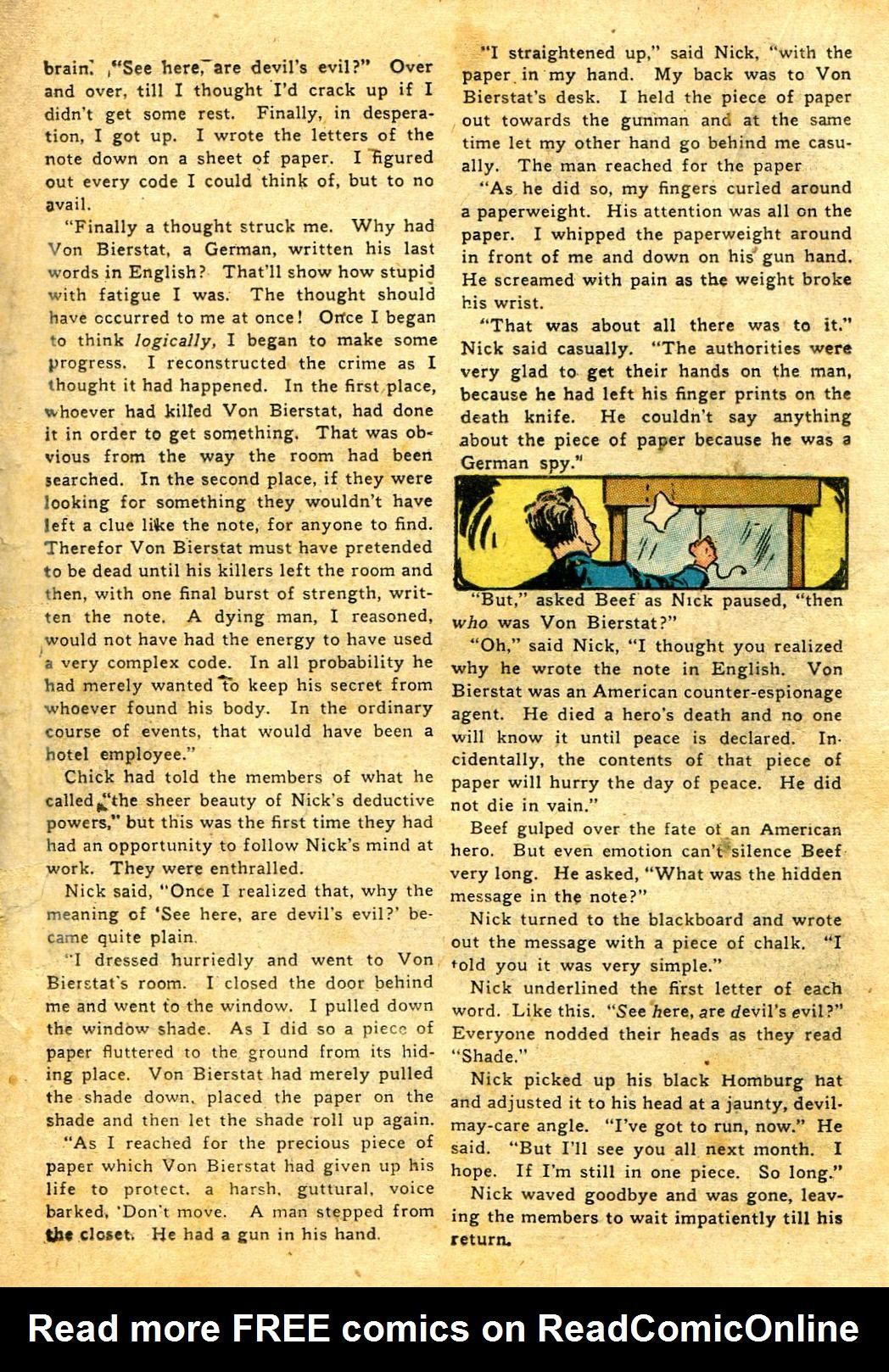 Read online Shadow Comics comic -  Issue #43 - 34