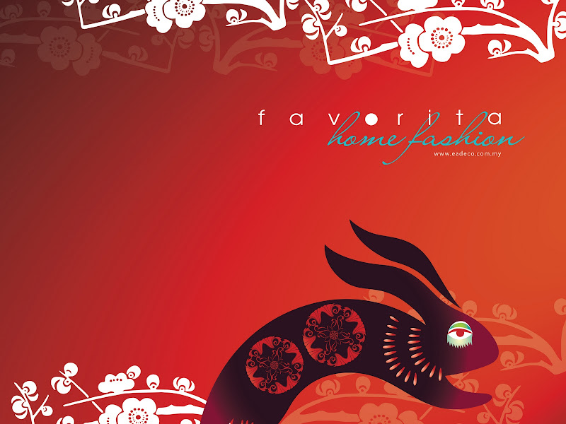 FREE CNY Wallpaper feat. Favorita (for PC, iPhone etc.) 2011 title=