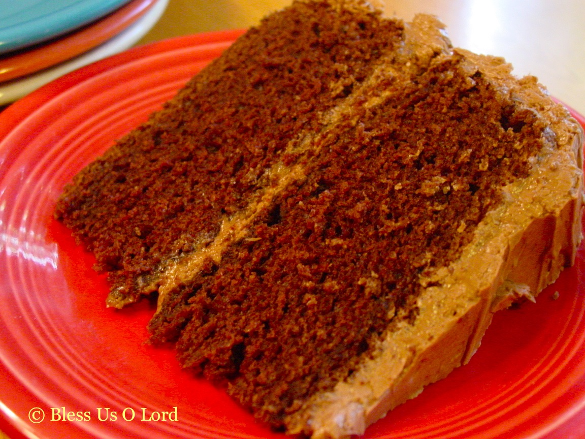 Low Fat Chocolate Cake Recipes From Scratch: Bless Us O Lord...: Chocolate Mayonnaise Cake