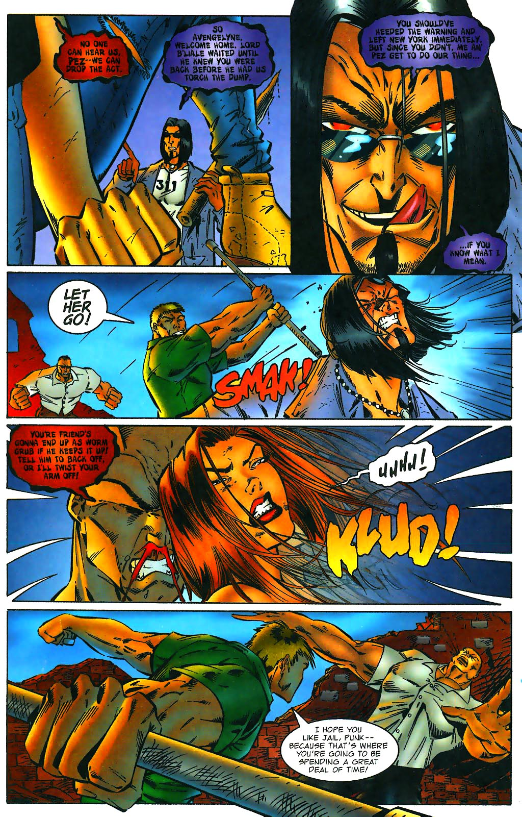 Read online Avengelyne (1996) comic -  Issue #1 - 11