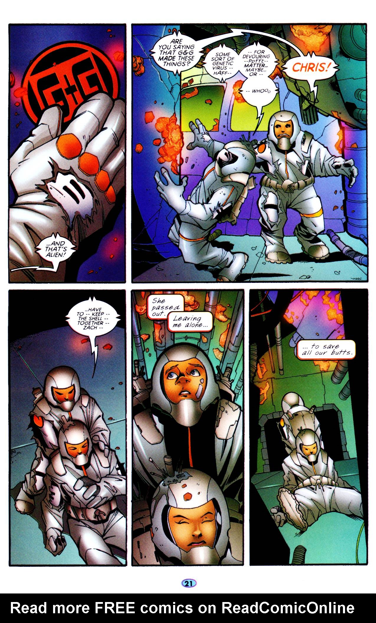 Read online Troublemakers comic -  Issue #6 - 18