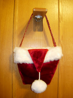 Quiltitems4u My Quot Santa Hat Purse Quot