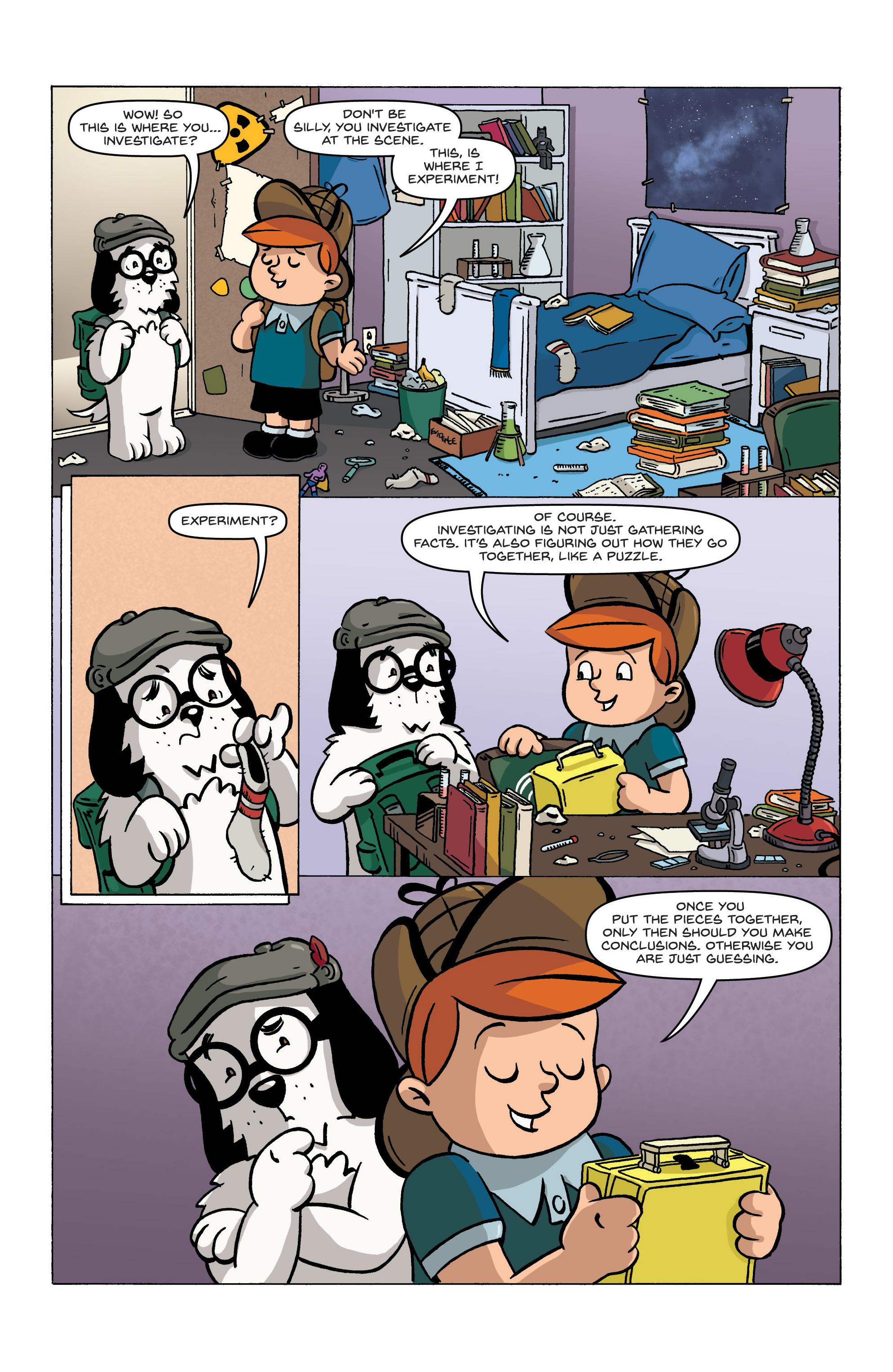Read online Kid Sherlock comic -  Issue #1 - 14