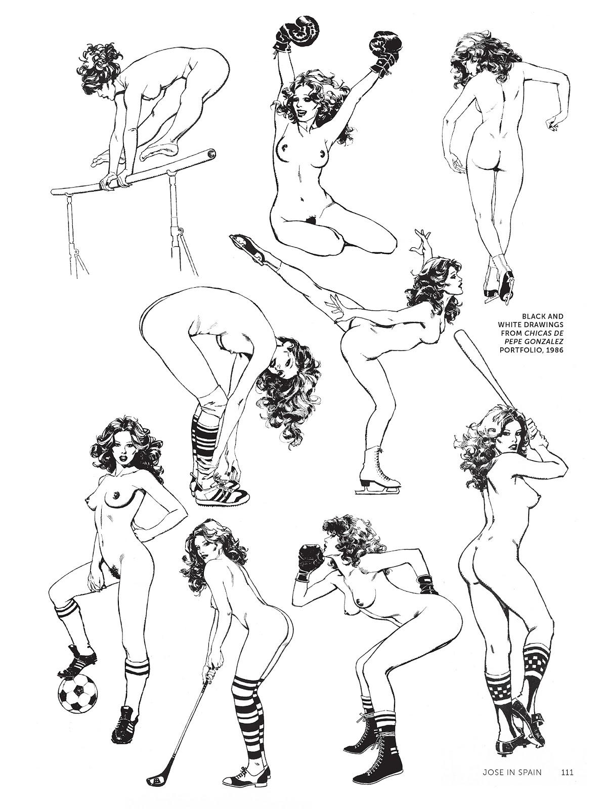 Read online The Art of Jose Gonzalez comic -  Issue # TPB (Part 2) - 13