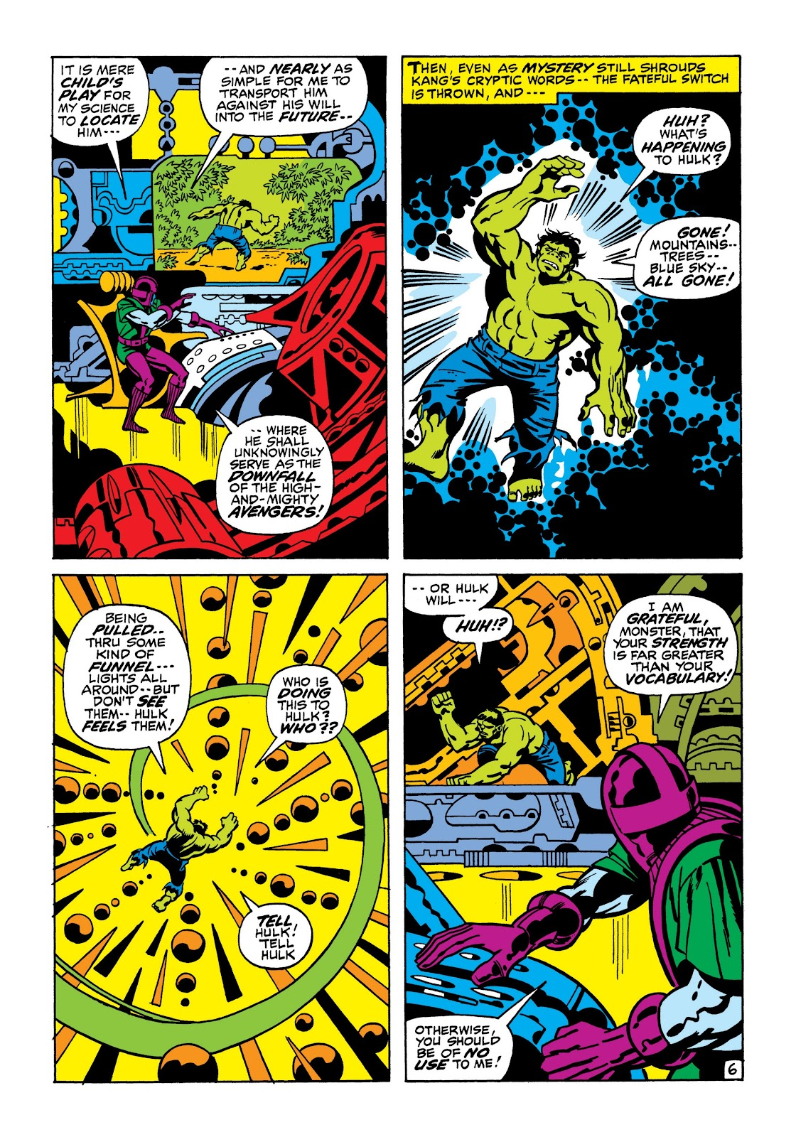 Read online Marvel Masterworks: The Incredible Hulk comic -  Issue # TPB 7 (Part 1) - 13