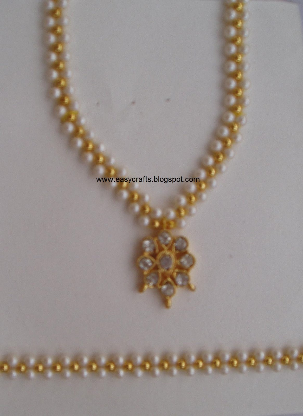 Easy Crafts Explore Your Creativity Artificial Jewellery