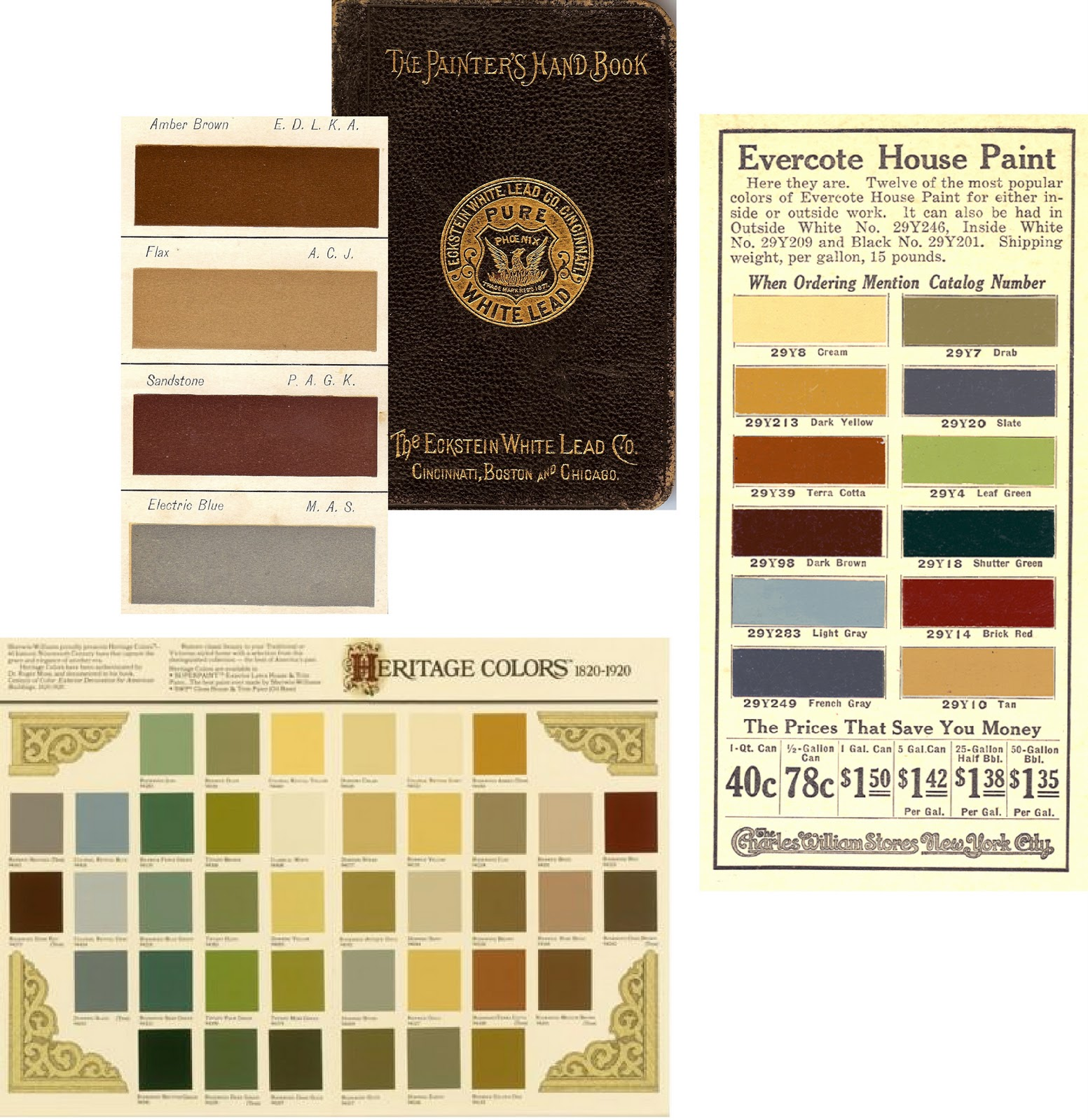 Victorian Interior Paint Colors: Divine Consign: Historic Home Colors