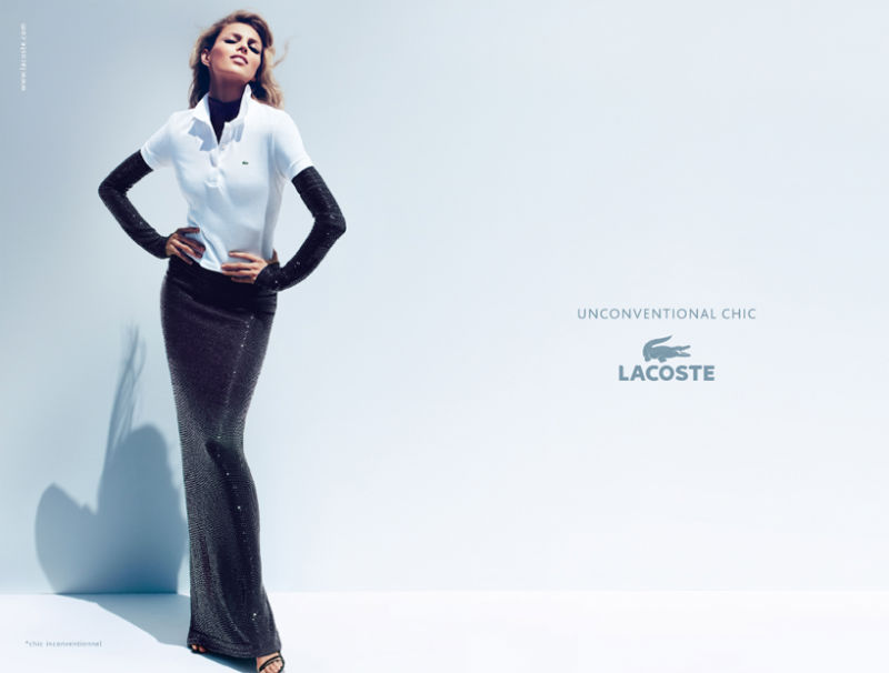 2209079e634c Ad Campaign Review  Unconventional Chic by Lacoste Spring Summer 2011