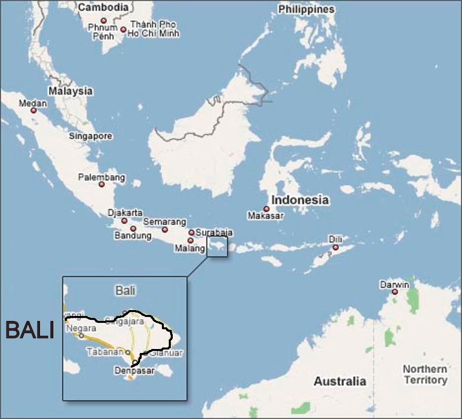 бали на карте мира где находится фото знаки челябинске