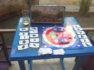 Indian elections board game