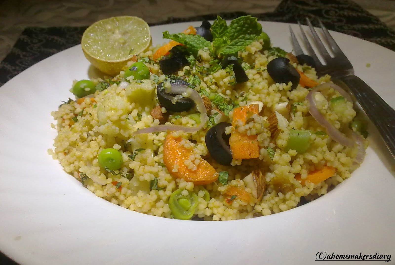 what is couscous called in hindi