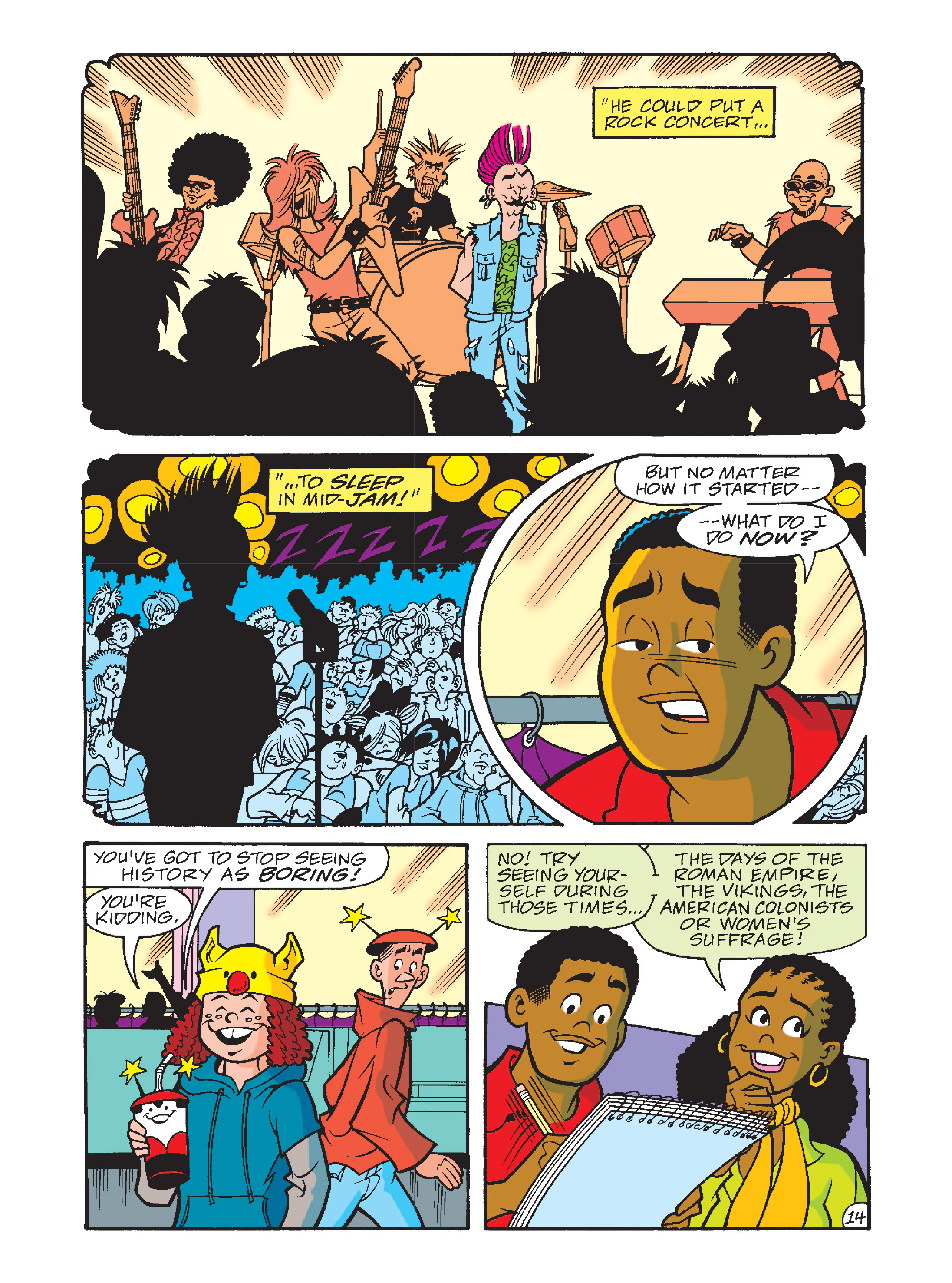 Read online Archie's Funhouse Double Digest comic -  Issue #10 - 49