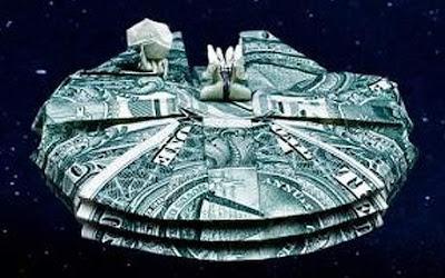 Origami de Star Wars