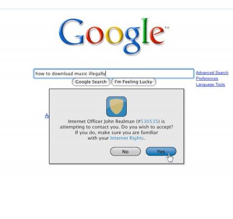 Se a internet tivesse polícia