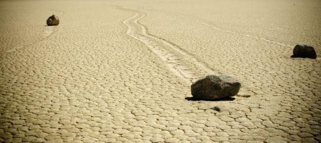 Sailing Stones, as pedras que andam