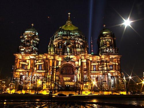 Festival das Luzes na Catedral de Berlim
