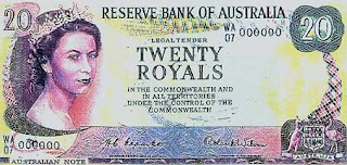 Paper Money Collecting Old Australian Banknotes Trivia