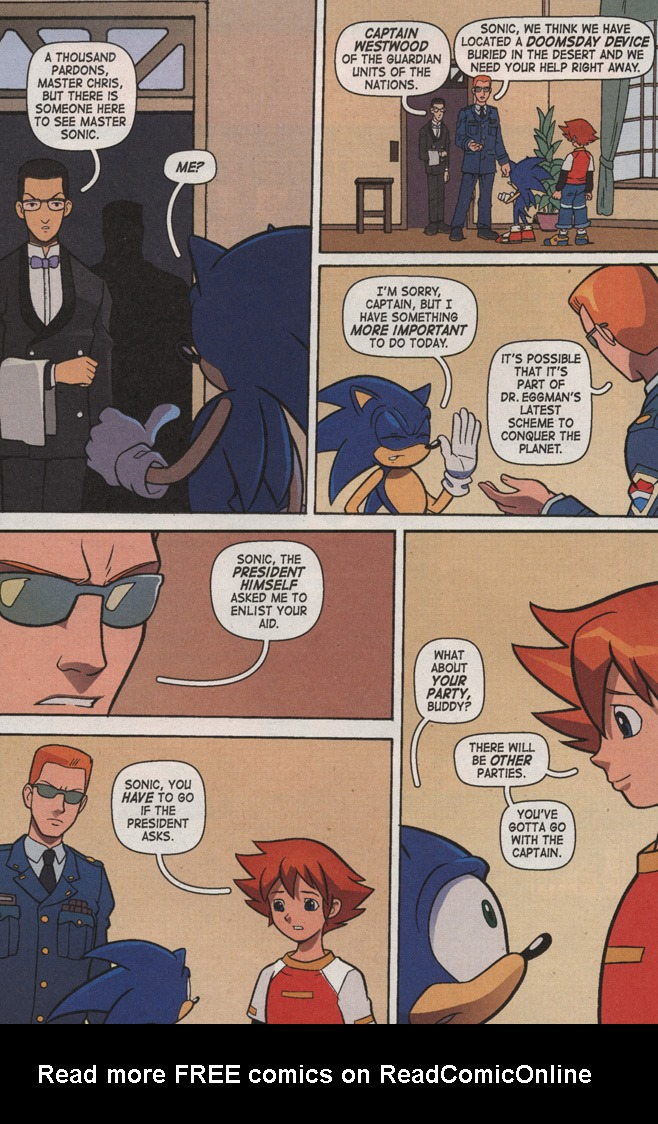 Read online Sonic X comic -  Issue #7 - 12