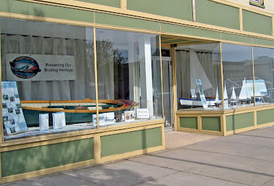 Boat Museum Artifacts on Display in Geneva Storefront