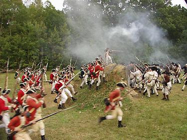 Twin Forts Day Features Am Rev Reenactment