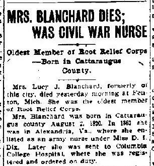Civil War Nurse Dedication Ceremony