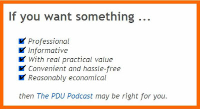 PDU Podcast Review