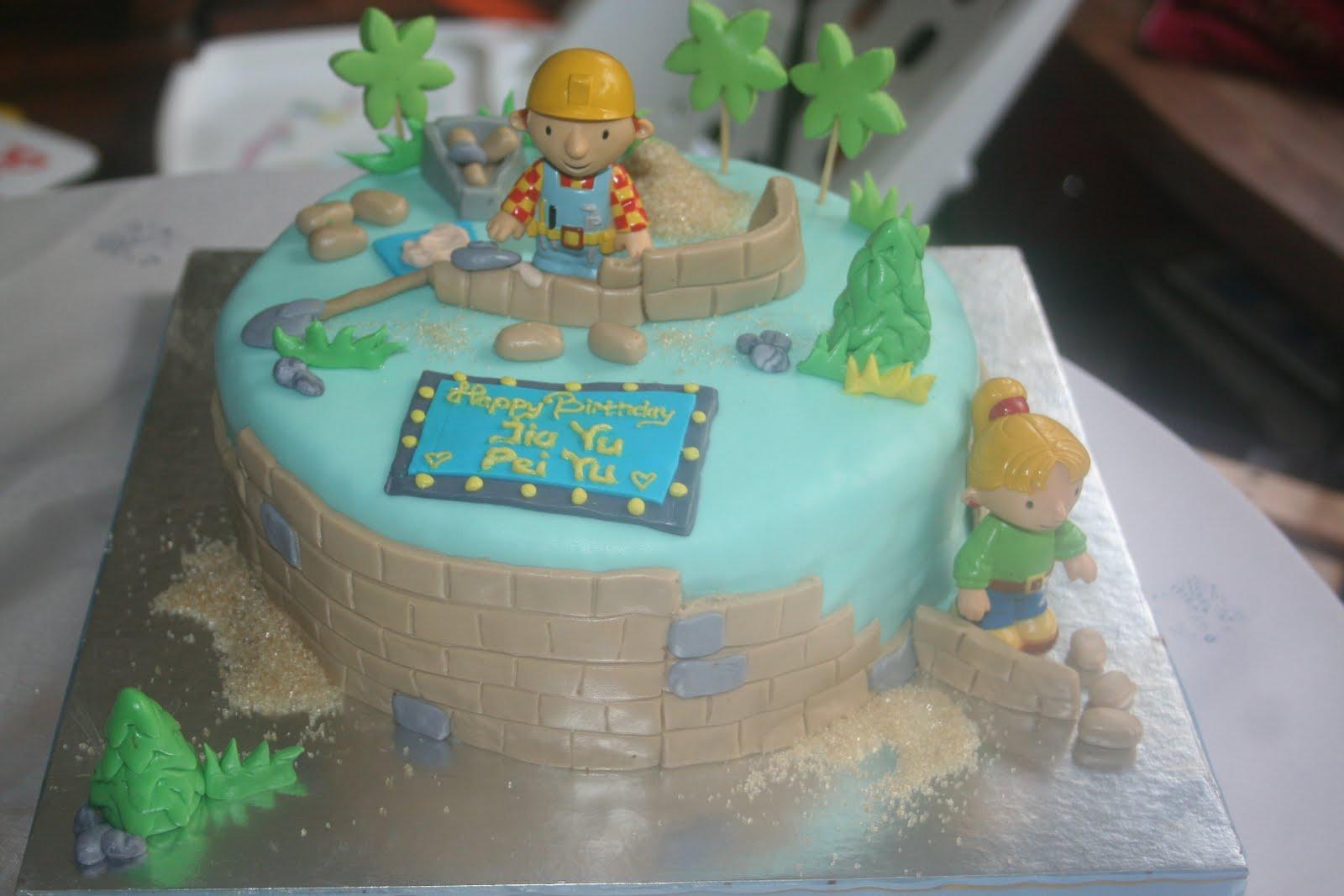 Butterfly Cake Bob The Builder Cake