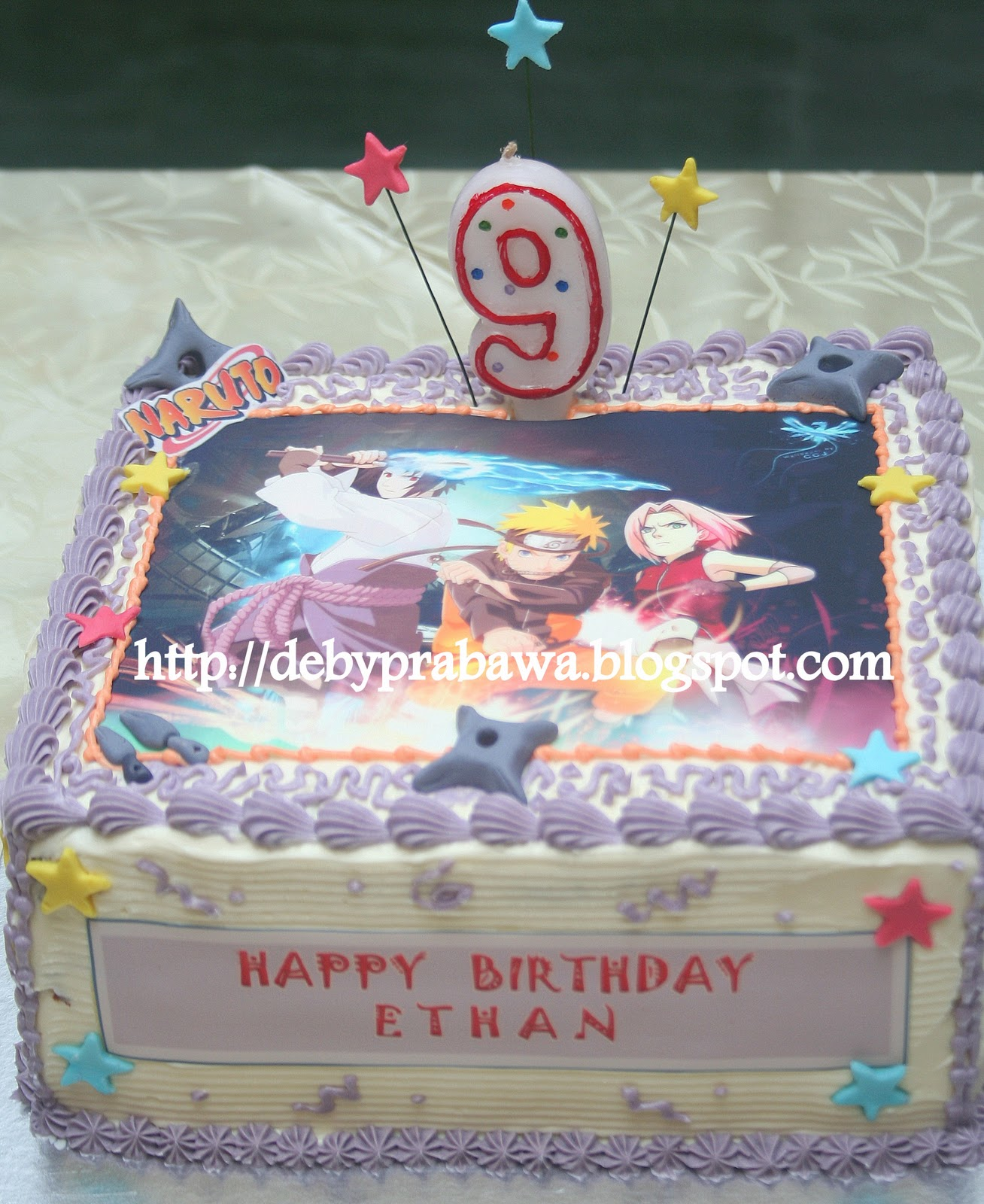 Butterfly Cake Naruto Theme Cake For Ethan