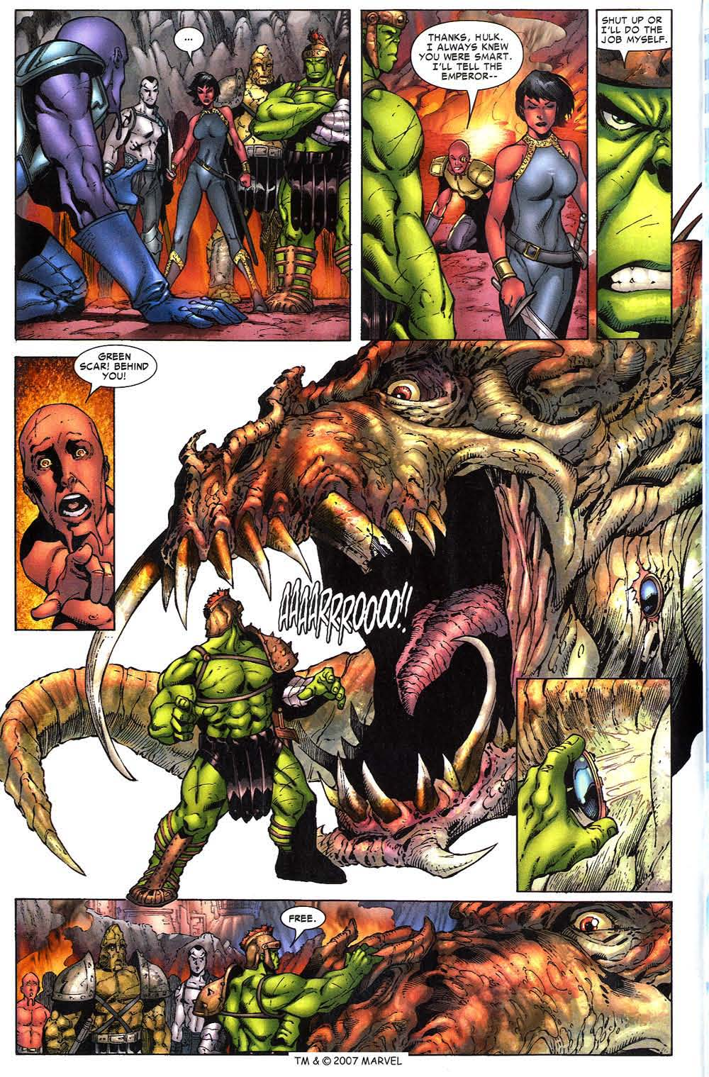 Read online The Incredible Hulk (2000) comic -  Issue #97 - 12