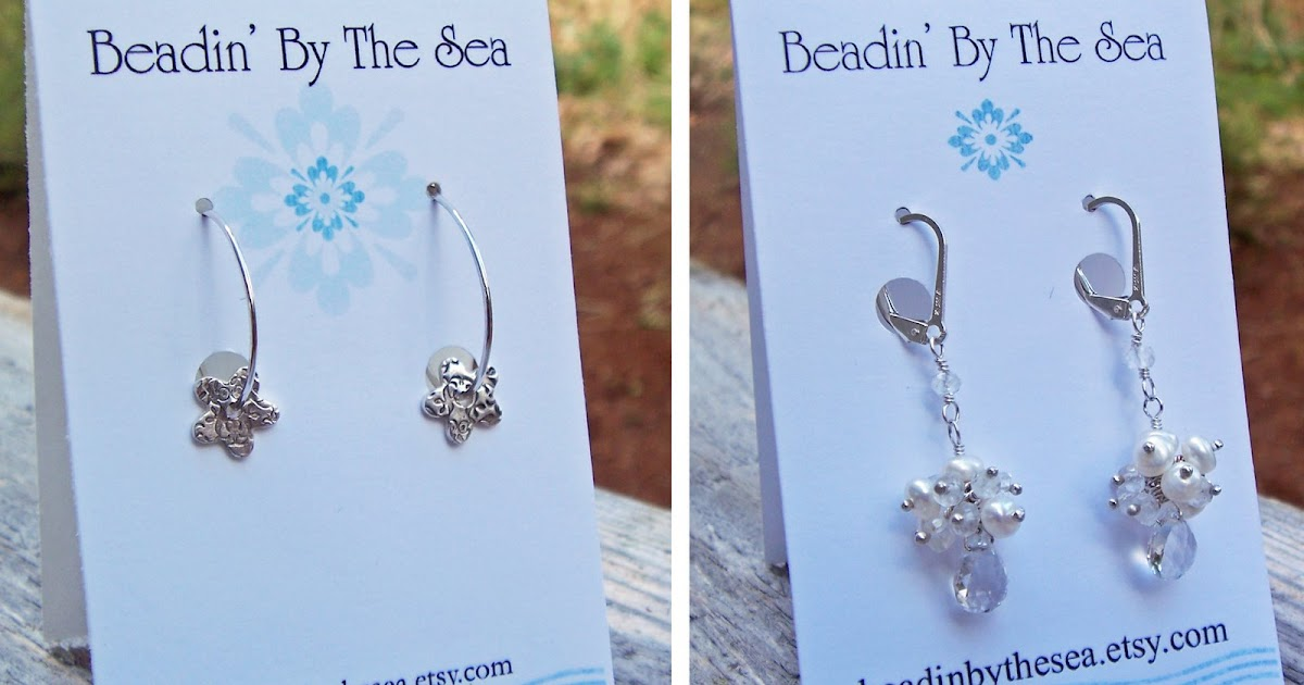 Beadin By The Sea Earring Cards Revisited