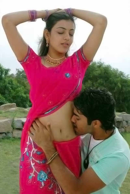 Film Actress Photos: Kajal Agarwal Hot Expression While
