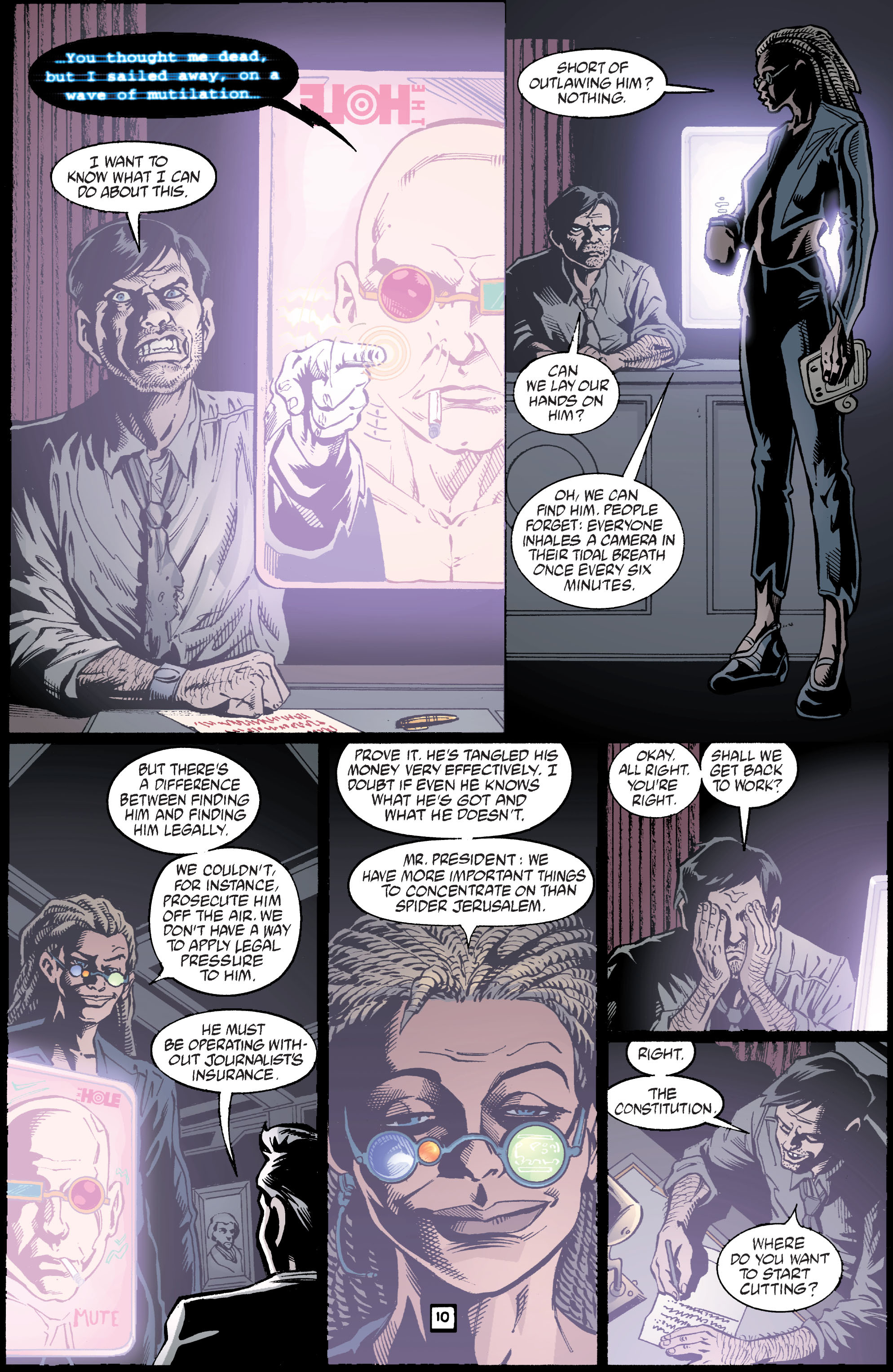 Read online Transmetropolitan comic -  Issue #39 - 11