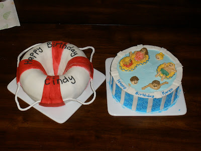 It S A Piece Of Cake Life Preserver And Pool Cake
