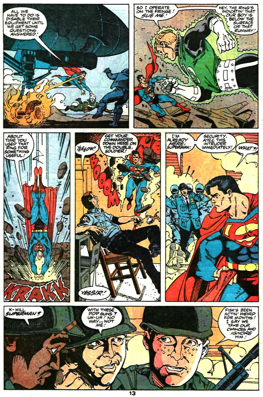 Read online Adventures of Superman (1987) comic -  Issue #473 - 15