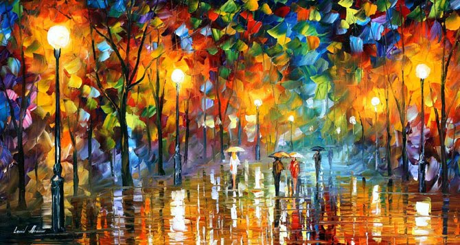 Kunststroming Romantiek Amazing Facts: Leonid Afremov Oil Paintings