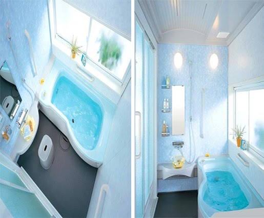 Beautiful Houses Interior Bathrooms