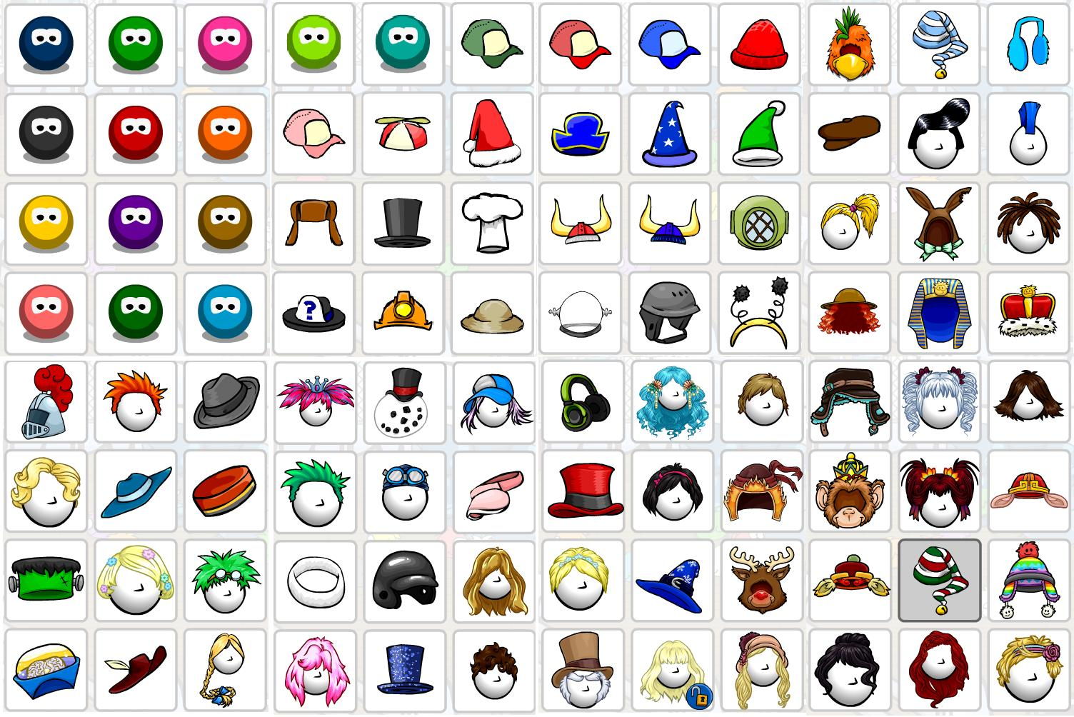 clubpenguin and games my items on club penguin
