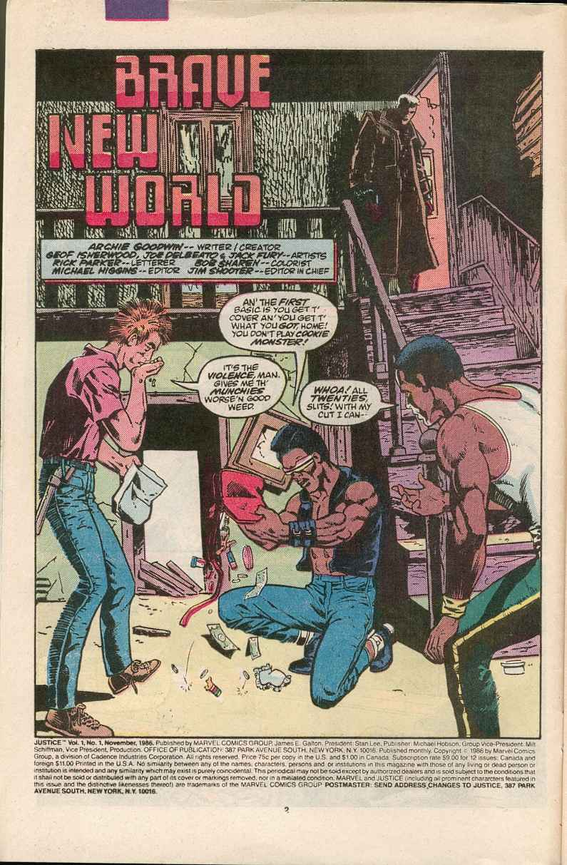 Read online Justice (1986) comic -  Issue #1 - 3
