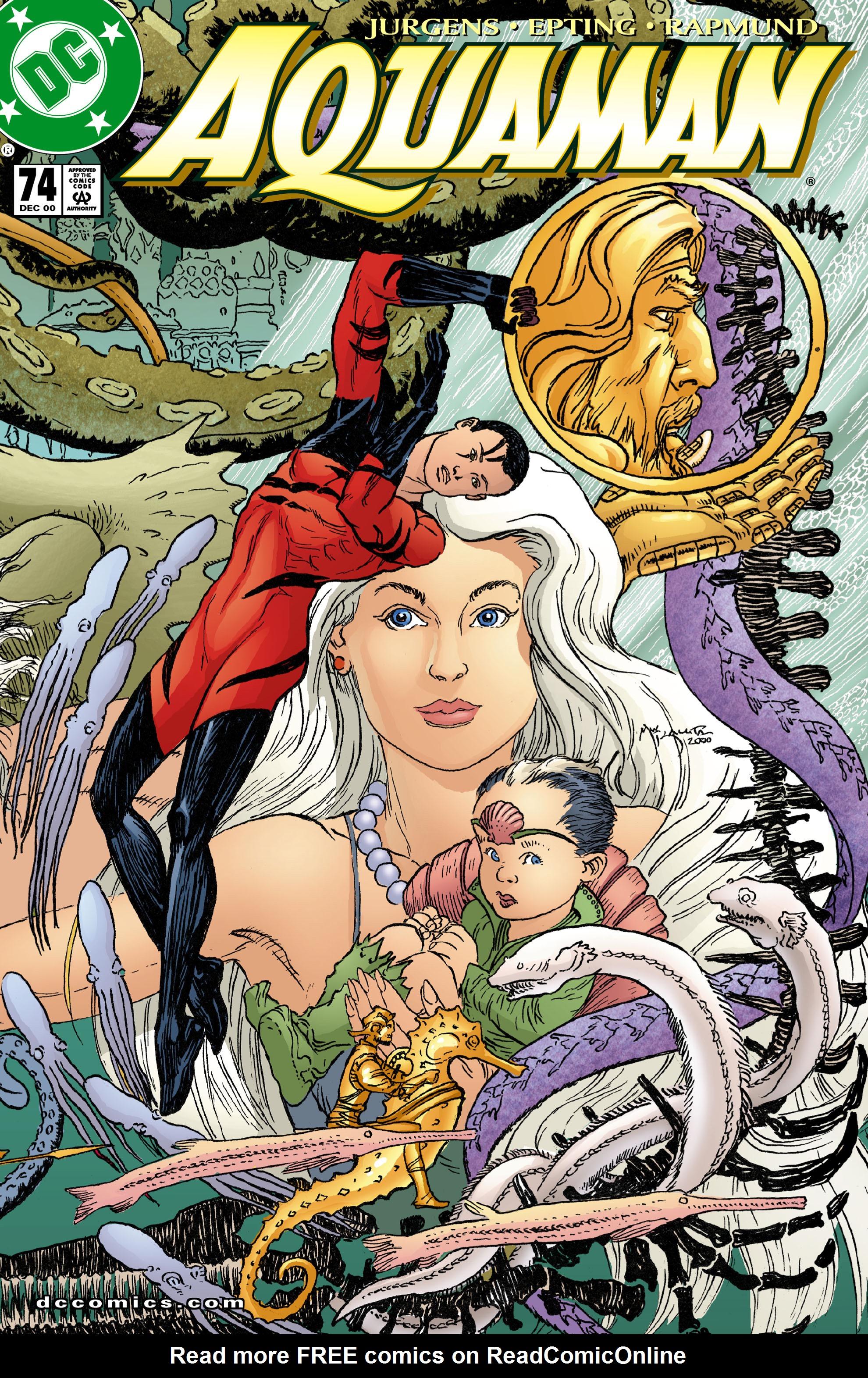 Read online Aquaman (1994) comic -  Issue #74 - 1