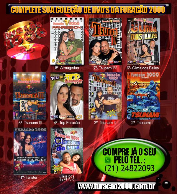 dvd top furacao 2000