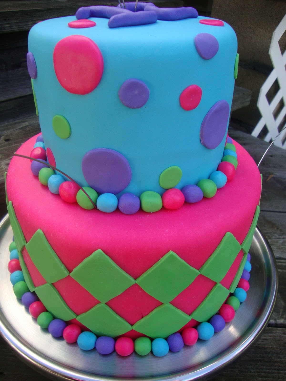 Caramel Cup: 12th Birthday Cake