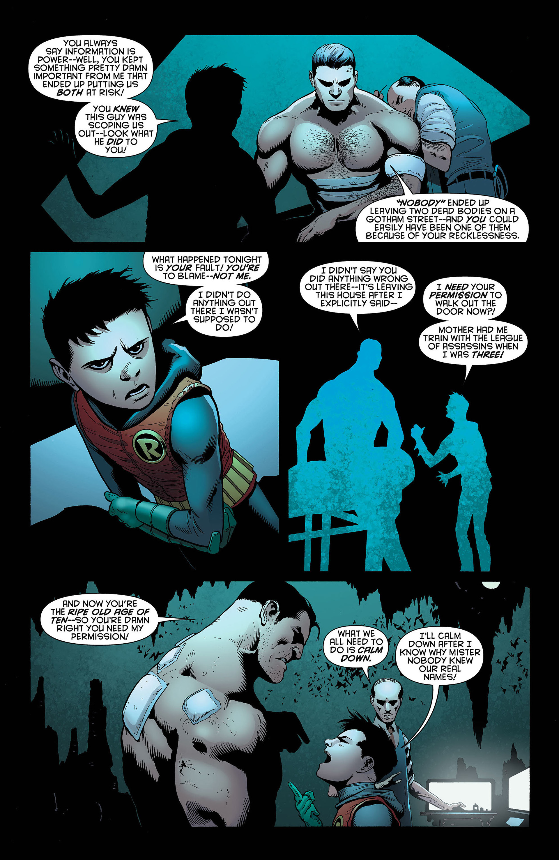 Read online Batman and Robin (2011) comic -  Issue #4 - 15