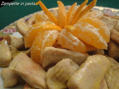 Petti di pollo al mandarino - Secondo piatto di carne