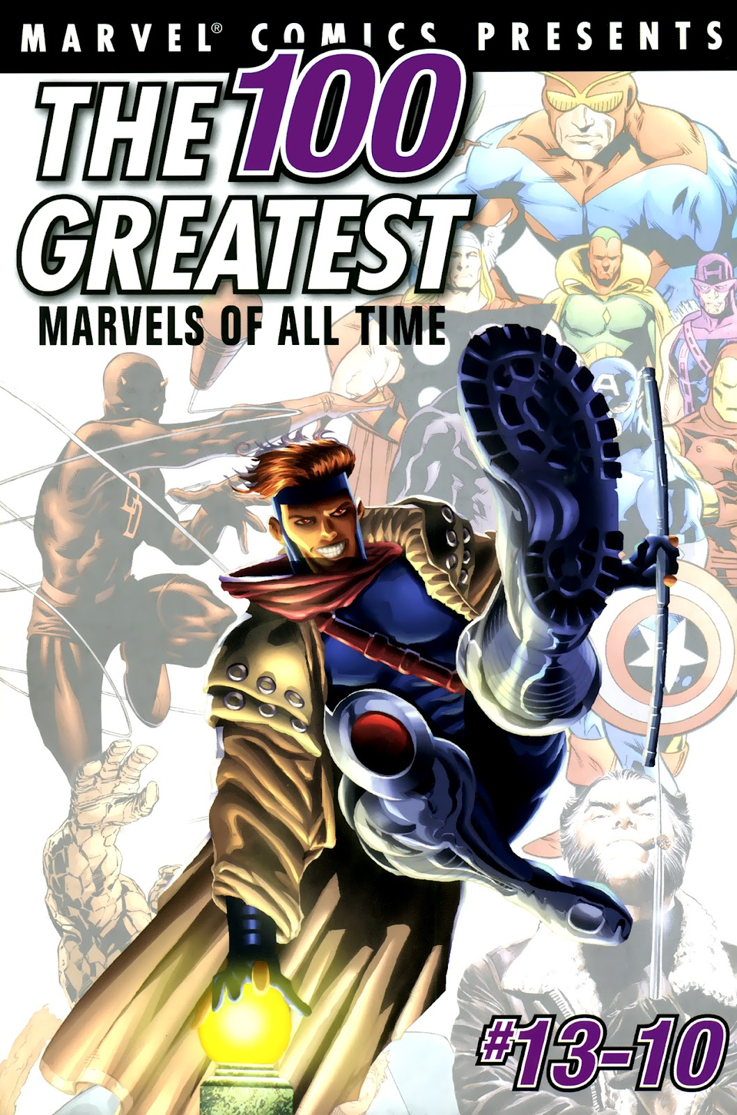 The 100 Greatest Marvels of All Time 4 Page 1