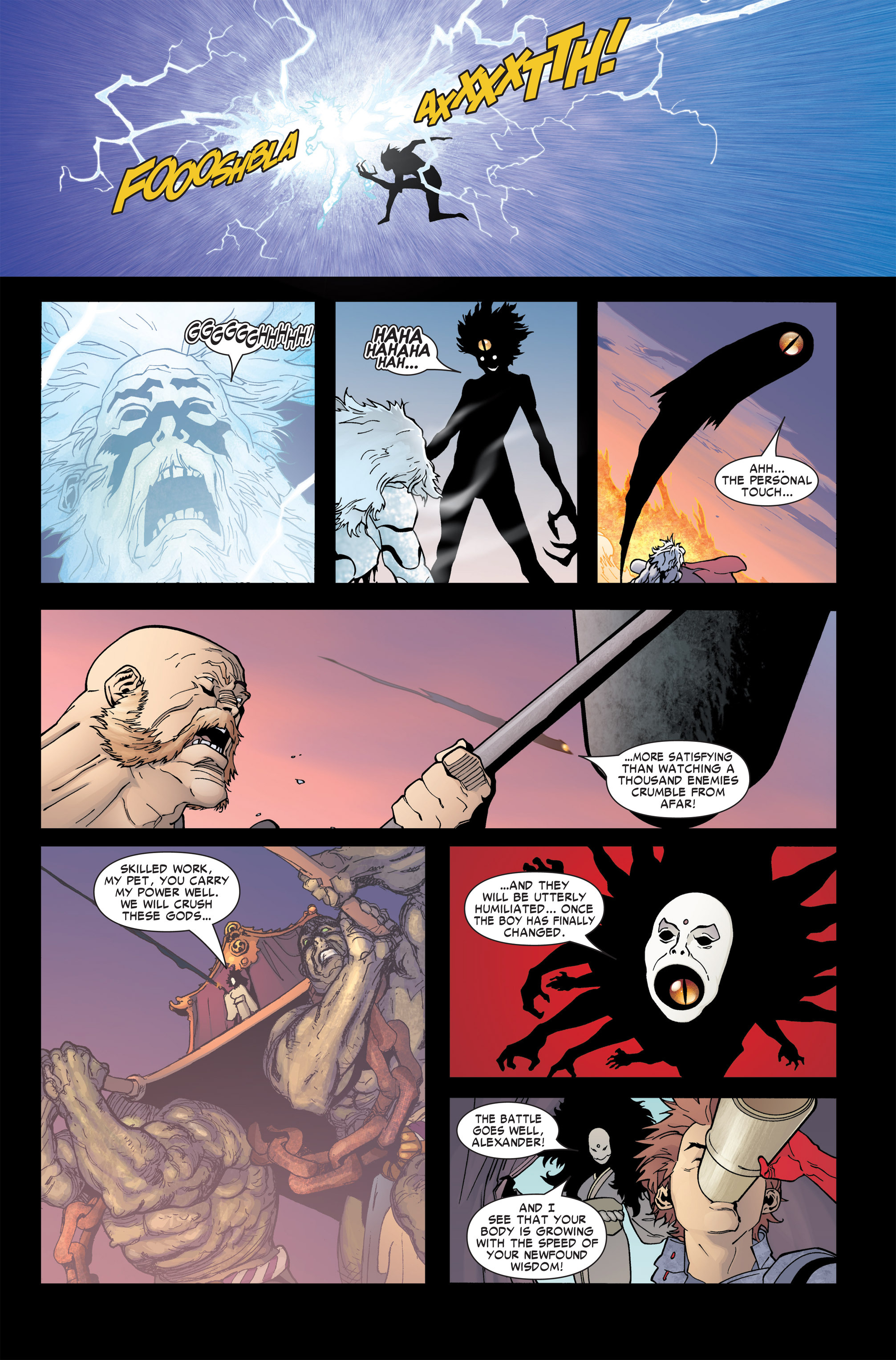 Read online Ares comic -  Issue #4 - 4