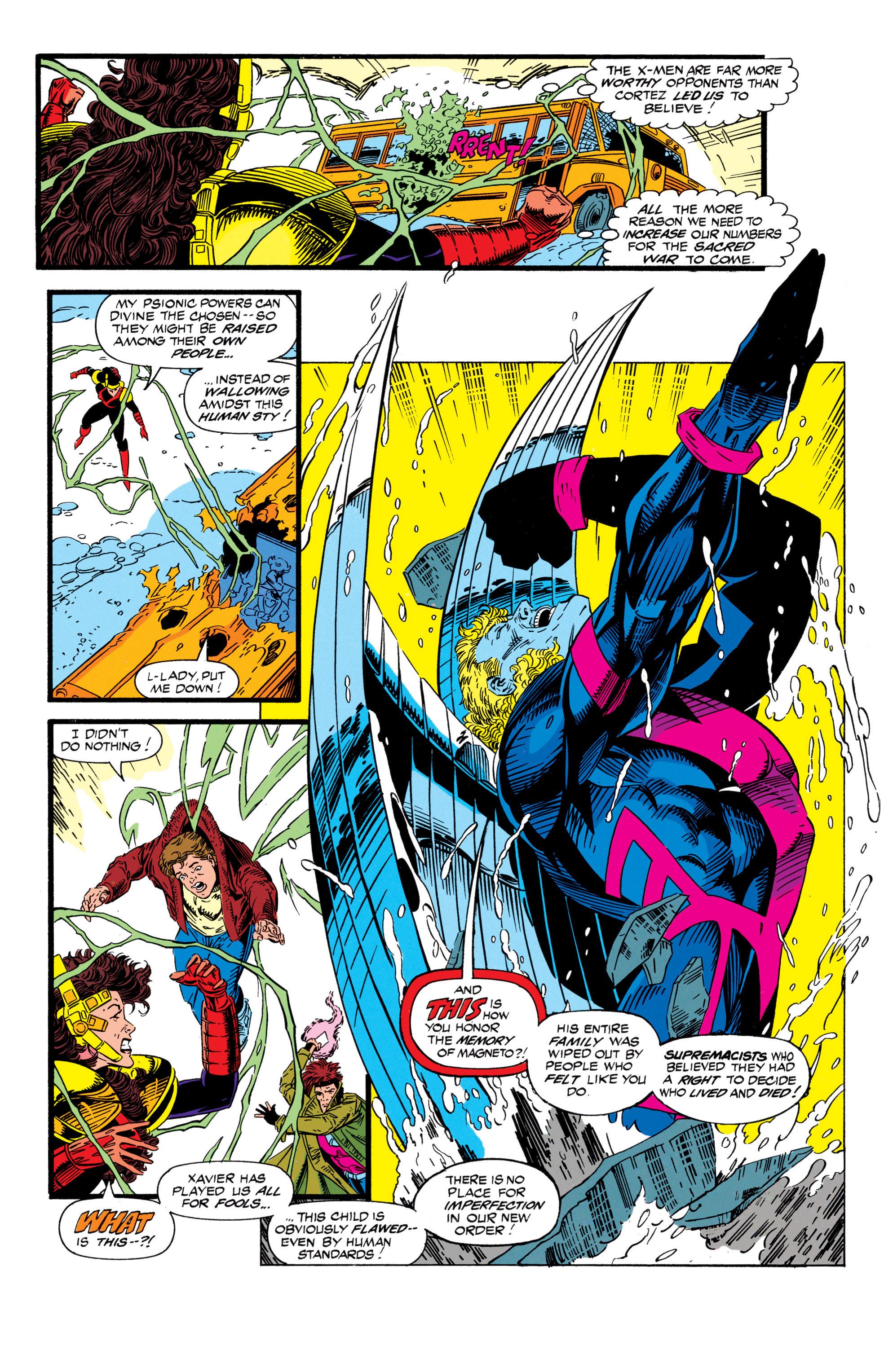 Read online Uncanny X-Men (1963) comic -  Issue #298 - 18